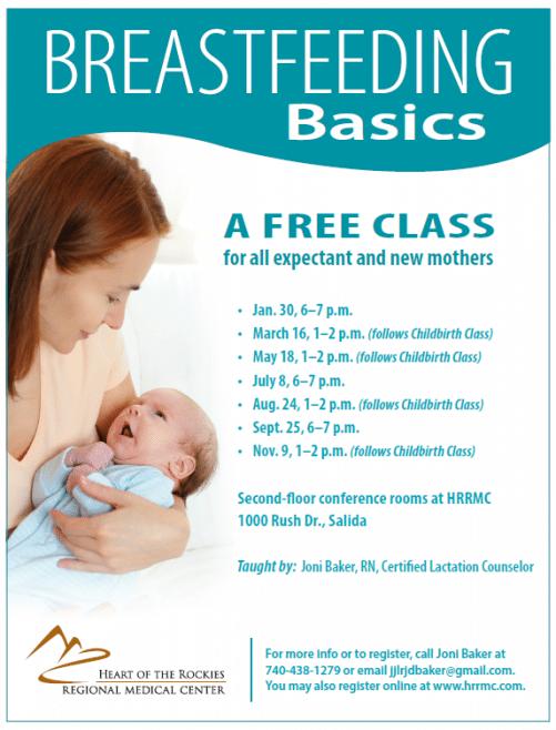 Breastfeeding Basics–Heart of the Rockies Regional Medical Center