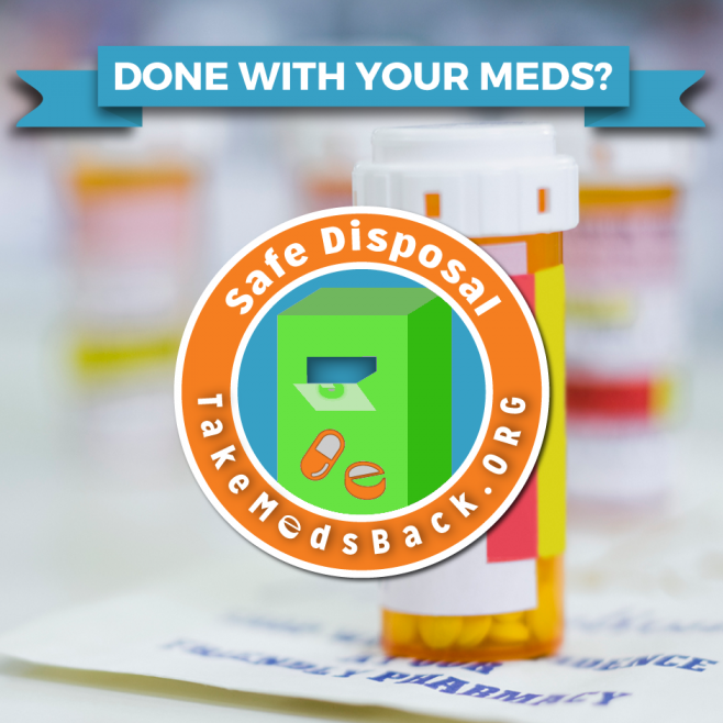 Prescription Drug Safe Drop Box