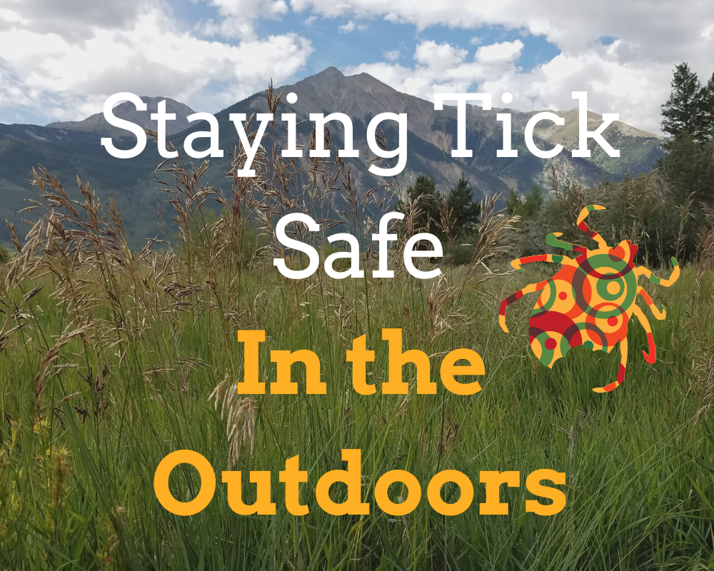 Staying Tick Safe in the Outdoors! (by Monica White)